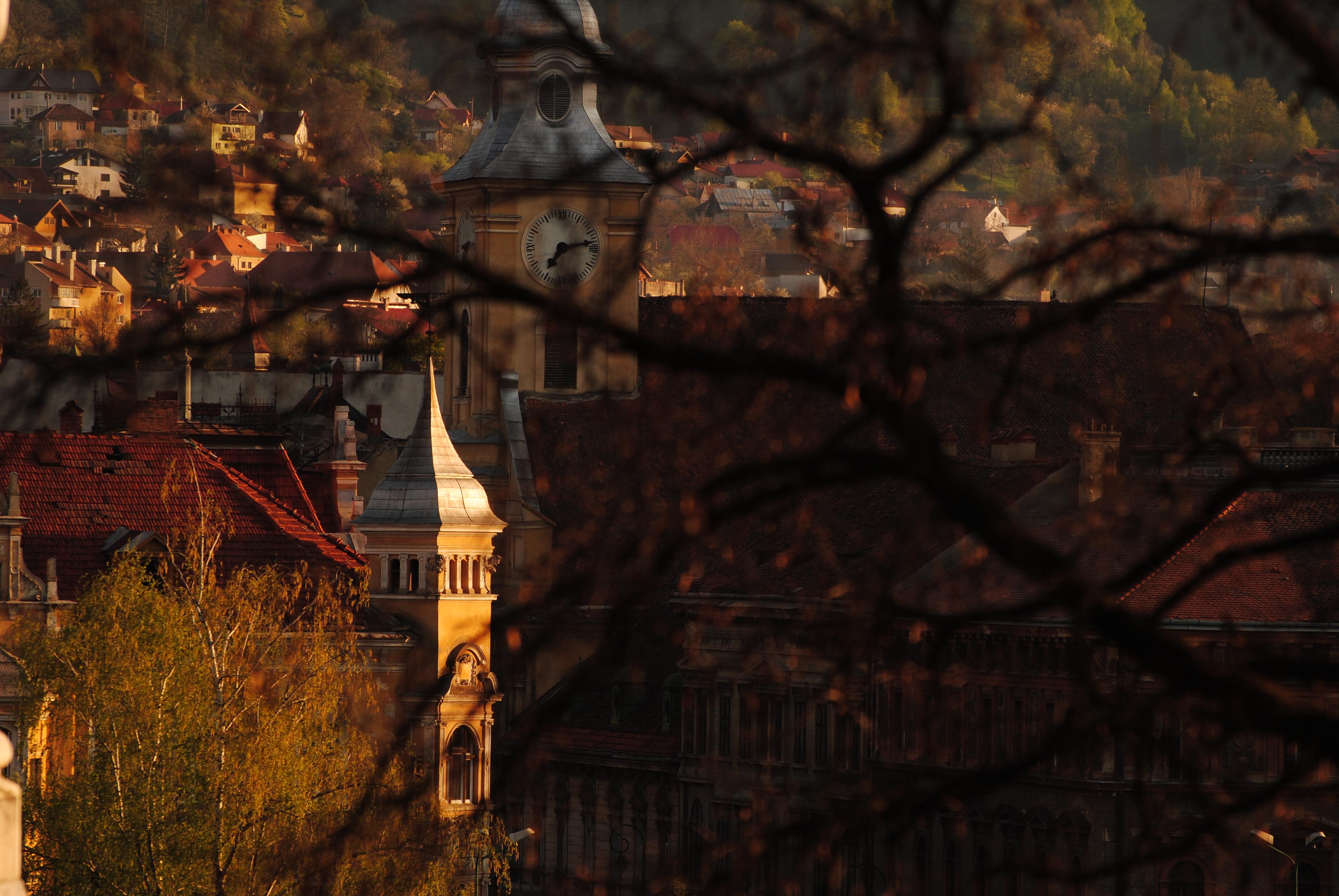 Aprilie 2013, vedere înspre Mureșenilor
