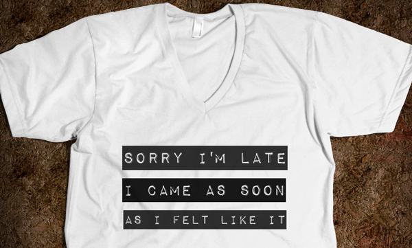 sorry-i-m-late.american-apparel-unisex-v-neck-tee.white.w760h760